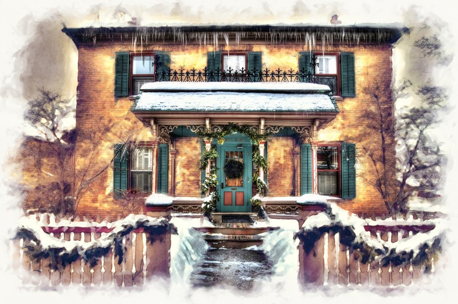 Another in the Cedarburg, Wisconsin winter series.  Love this place.