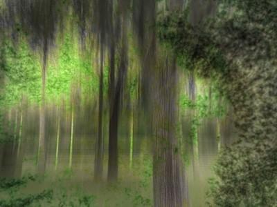 enchanted forest digital illusion artwork