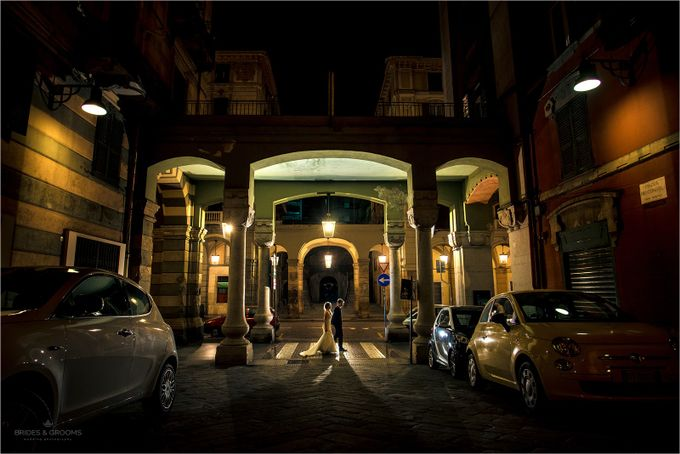 Italian streets by panyoki - People At Night Photo Contest