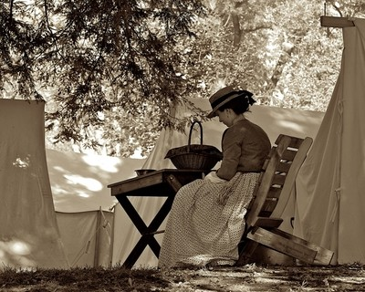 Lady in Camp