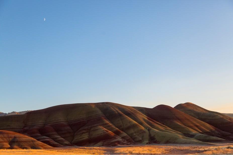 Painted hills oregon.