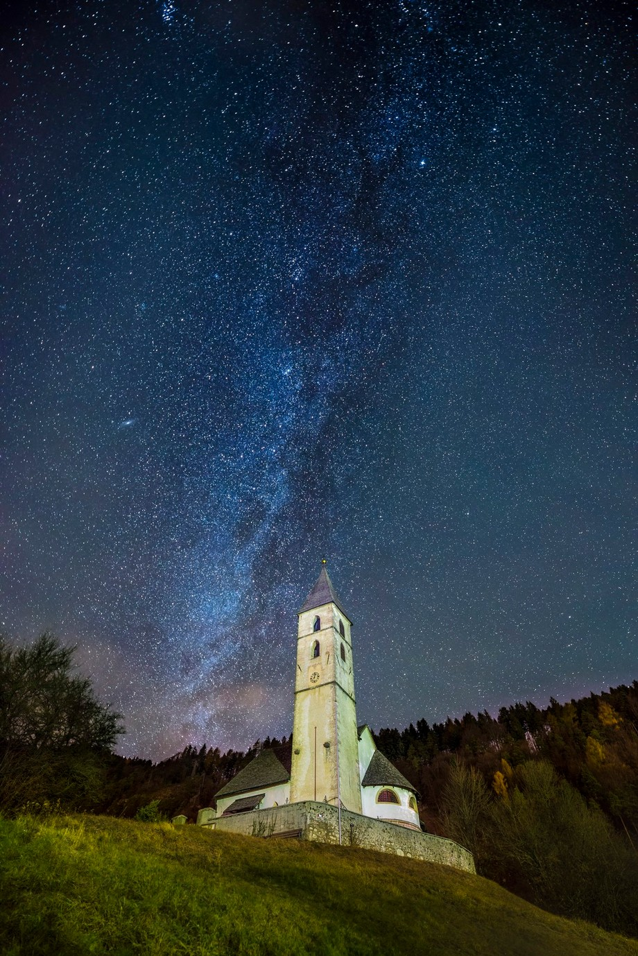 0:05 o' clock by spidi1981 - Capture The Milky Way Photo Contest