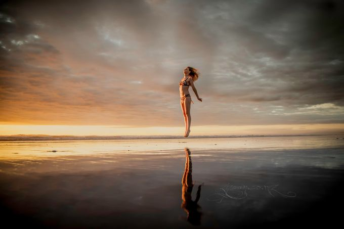 Muriwai Beach with Bronwyn by barryhutchins - Social Exposure Photo Contest Vol 12