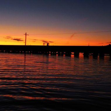 Taken at sunset from boat Nikon Coolpix 6500