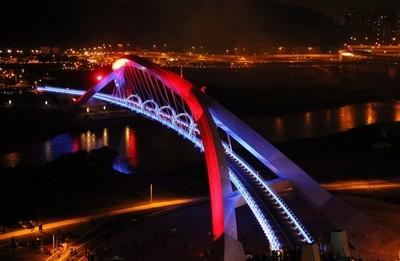 Colorful bridge