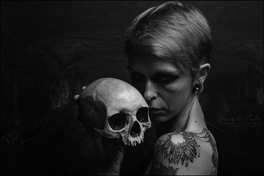Model: Anastasya Eliseeva  Photographer: Adrian Chinery