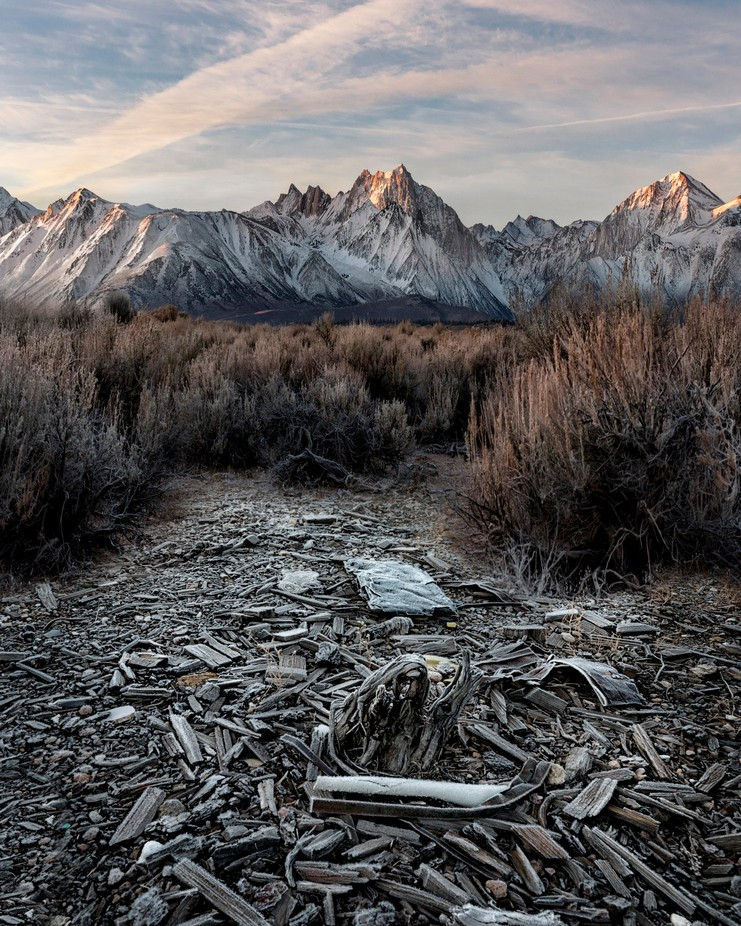 Frost on the Eastern Sierras by ConorEgan - Creative Landscapes Photo Contest vol3