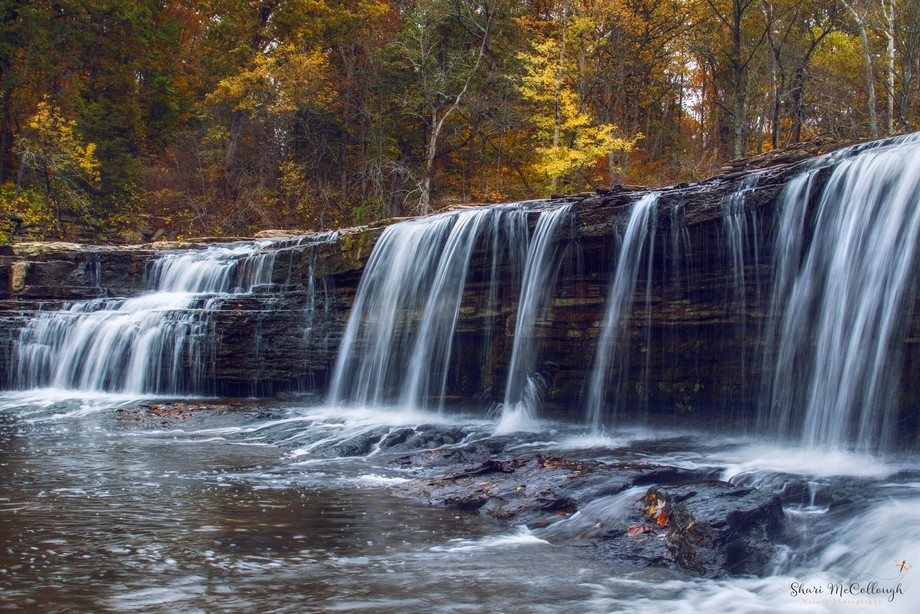 Upper Falls in Cloverdale, IN