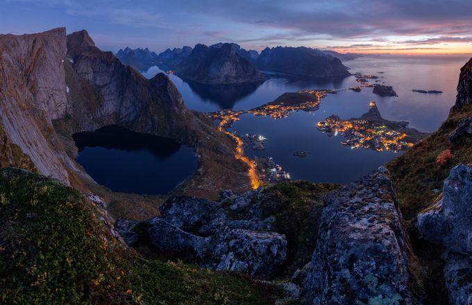 Reinebringen at dawn by LPonTour-ErikaValkovicova - High Vantage Points Photo Contest