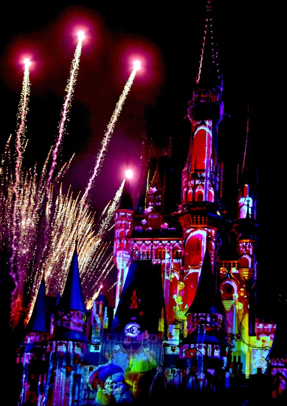 Part of Happy Ever After Fireworks at Disney Magic Kingdom
