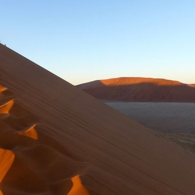 Dawn at Dune 45 Namibia.