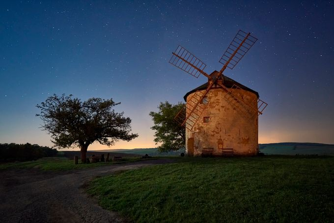 Old Mill by jansieminski - Windmills Photo Contest