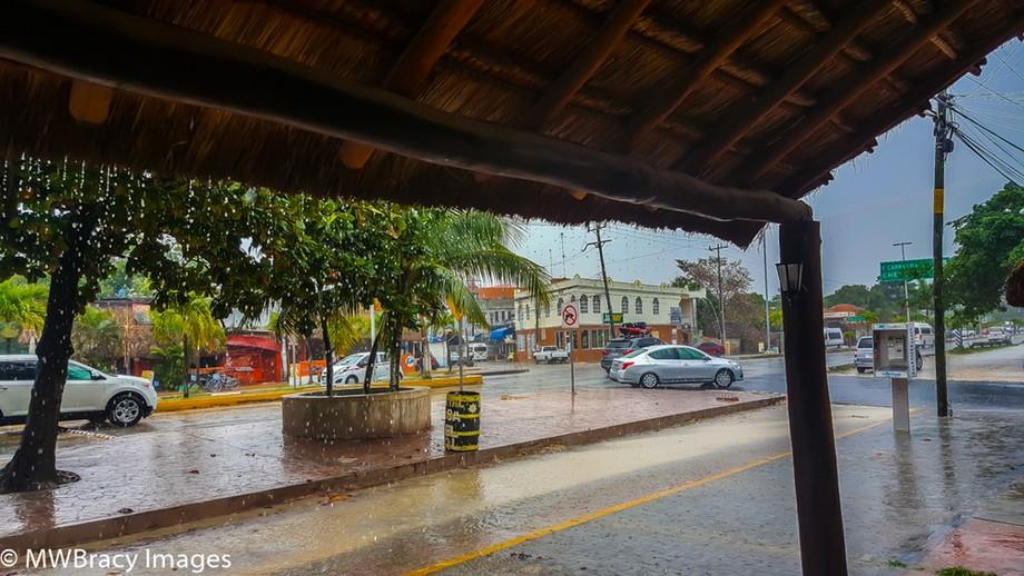 Rainy day in Tulum