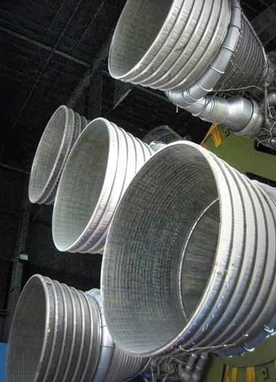 Saturn Rocket Nozzles