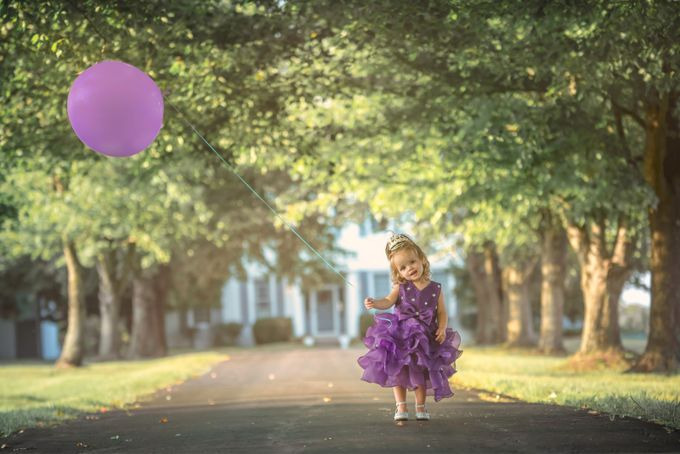The Princess and the Purple Balloon by jasebrinker
