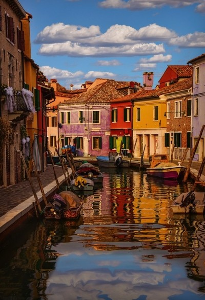 The Boats of Burano