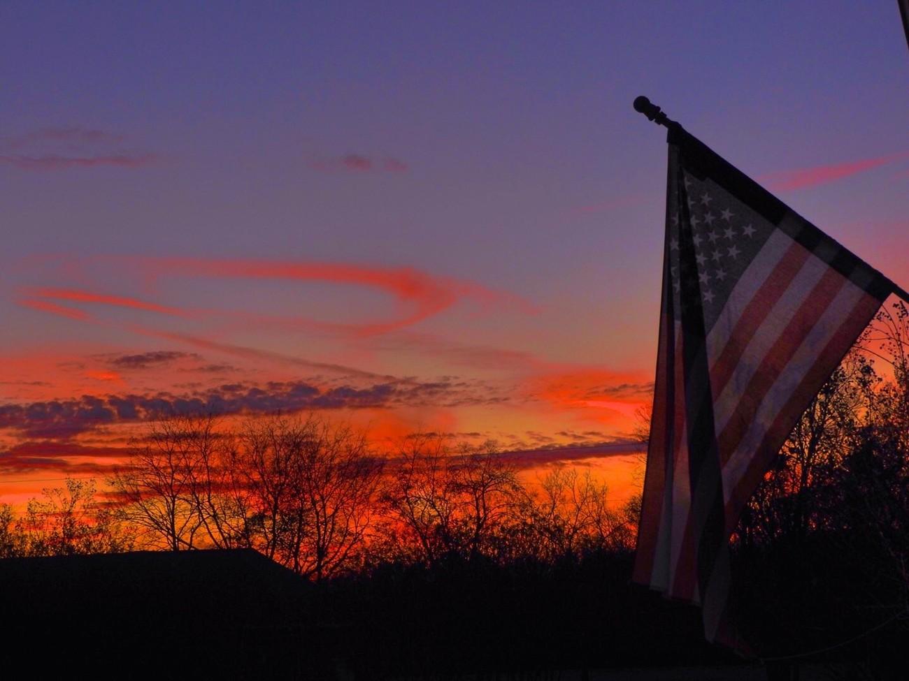 Sunset in November