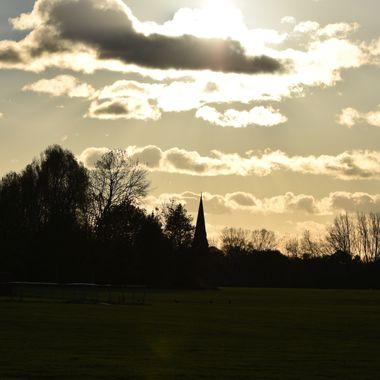 Taken in Hanworth Air Park West London.
