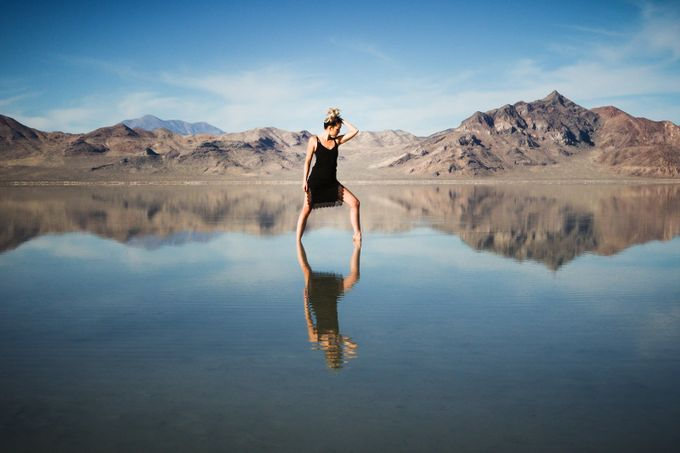 Katy Lake Bonneville  by capturedslc - People And Water Photo Contest 2017