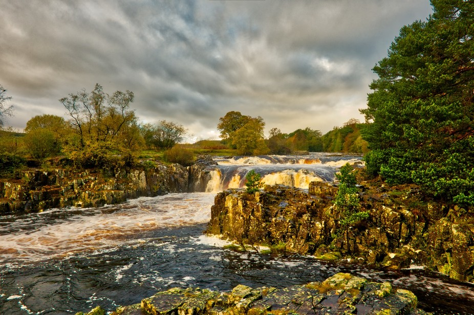 Low Force waterfalls Co Durham.