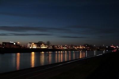 Boulevards at night II
