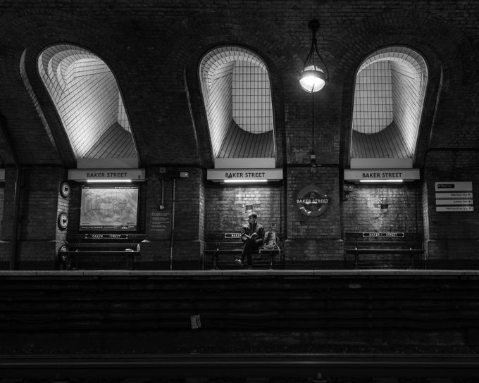 Passenger Pending by MikeW - Public Transport Hubs Photo Contest