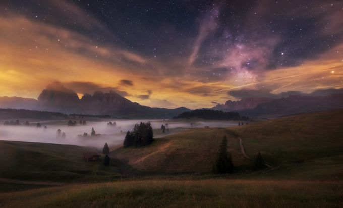 Seiser Alm by alekrivec - Night Wonders Photo Contest
