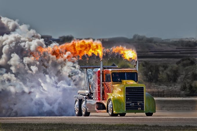 Top fuel truck by MBphotographybiz - Trucks Photo Contest