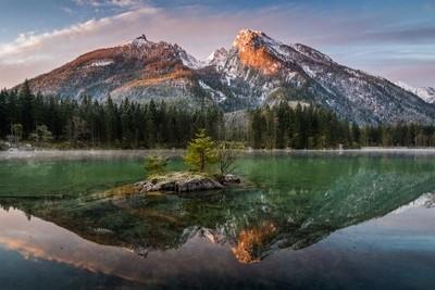 Mountain Mirror Hintersee