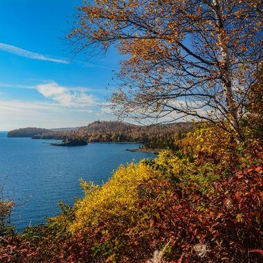 Taken in mid-October from Split Rock Lighthouse.