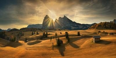 When the sun rises....