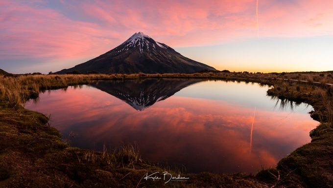 Mount Taranaki at sunset by kylebarden - Social Exposure Photo Contest Vol 13