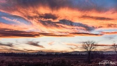 Sunday's Front Range Sunset