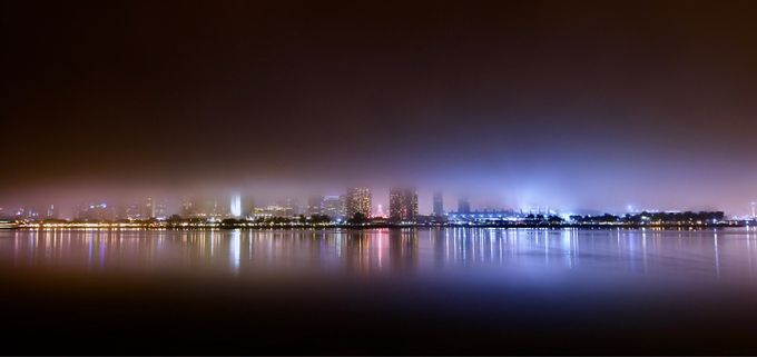 And then the fog rolled in. by mindylyon - Fog And City Photo Contest
