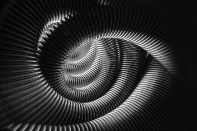 Spirals by MBphotographybiz - Patterns In Black And White Photo Contest