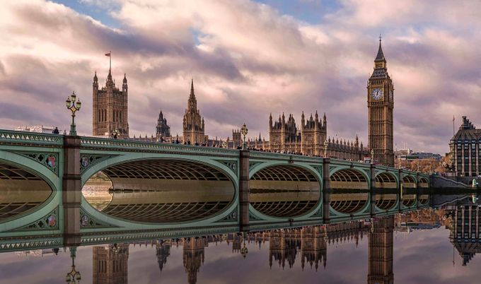 View Across the Thames by ronhaslam - Spectacular Bridges Photo Contest