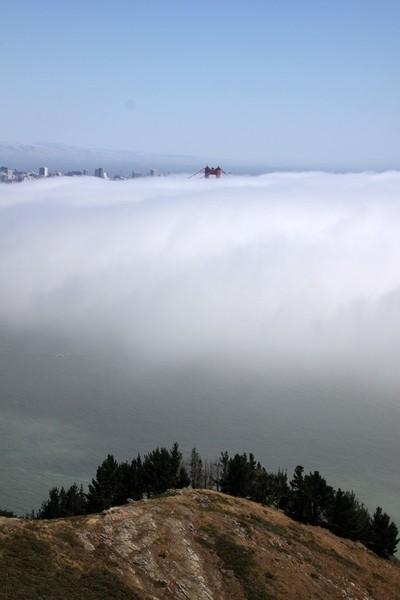 Fog over SF Bay