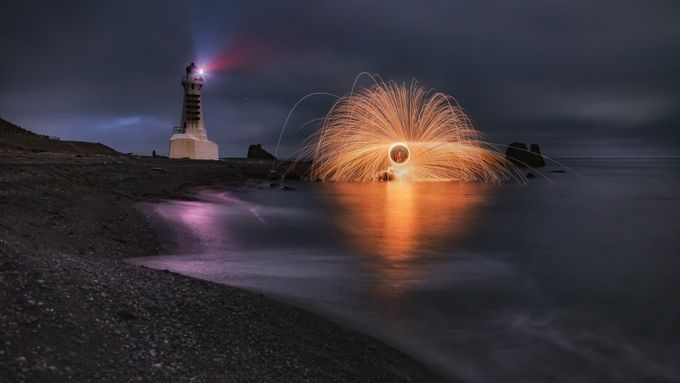 Coastal lights  by Atheights - Experimental Light Photo Contest