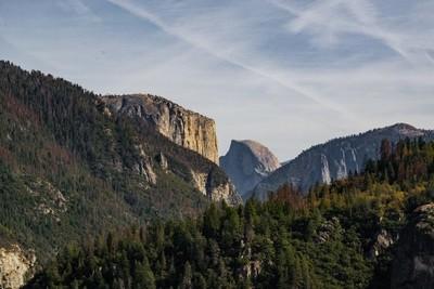 Yosemite - El Cap & Half Dome