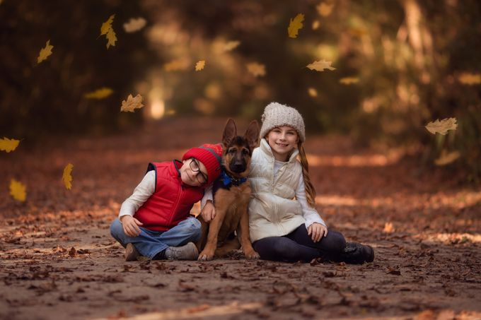 Best Friends by AshleyGoverman - Family In The Holidays Photo Contest