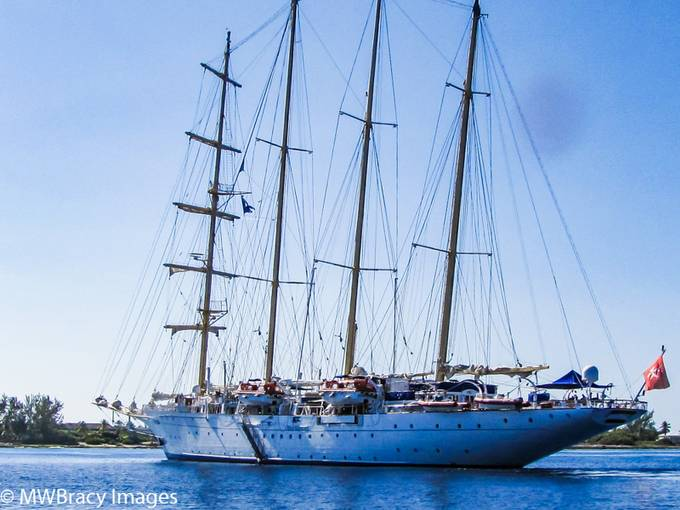 Schooner at Cayman Brac
