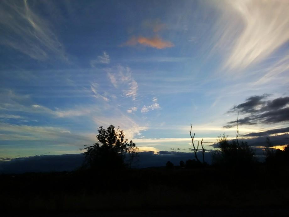 Oregon clouds