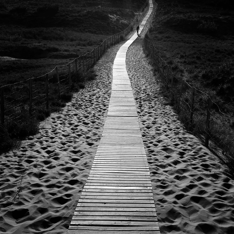 Boardwalk by SteveCheetham - Landscapes And Sand Photo Contest