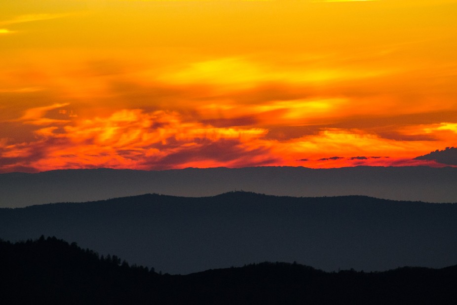 Sunset from Yosemite