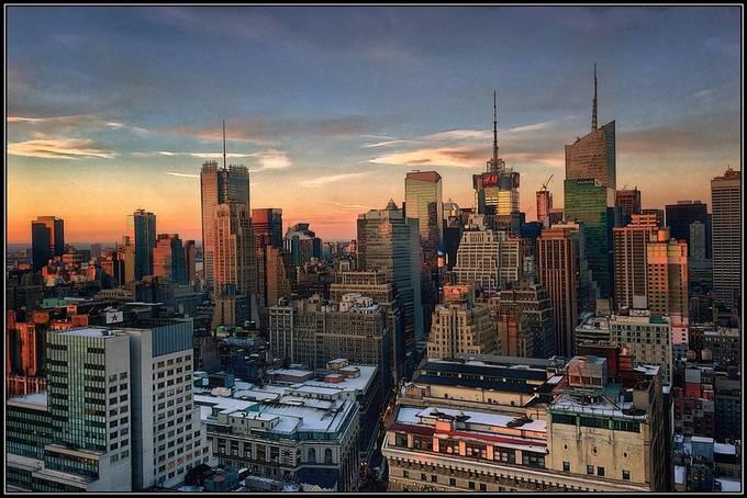 Magic Hour over Manhattan