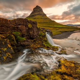 Sunrise at the Kirkjufell