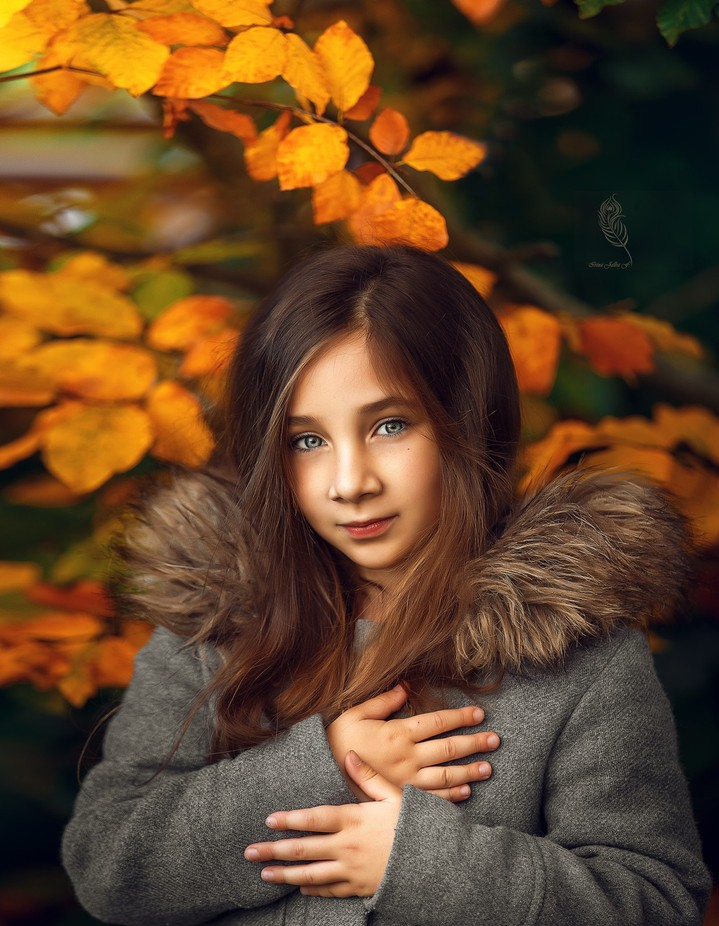 lady autumn by IrinaJalbaFurtuna - Thank You Photo Contest