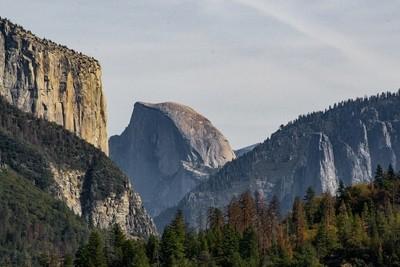 Half Dome & El Cap details