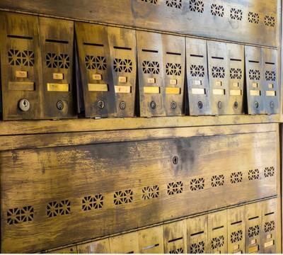 Brass Mailboxes