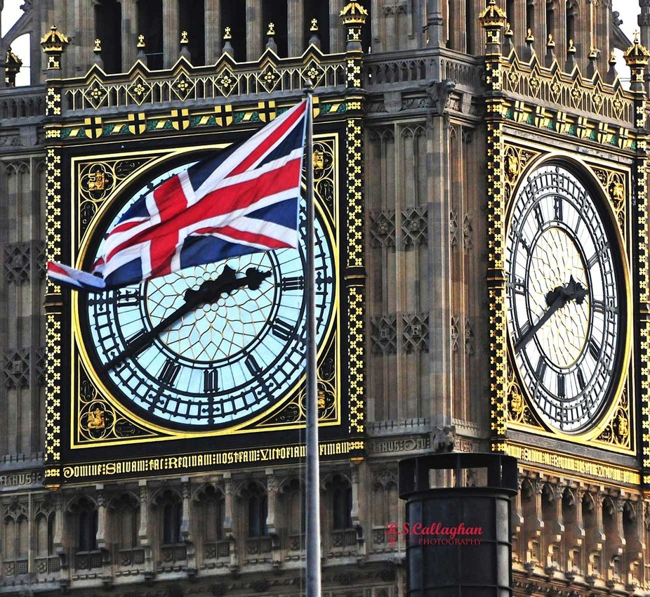The Union Jack & Big Ben